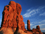 Sandstone Rock Formations at Arches National Park, Utah, USA Photographic Print by Scott T. Smith
