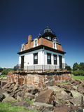 Lighthouse at Shelburne Museum, Shelburne, Vermont, USA Photographic Print by Walter Bibikow
