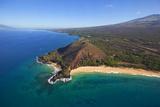Makena Beach, Aka Oneloa Beach and Big Beach, Maui, Hawaii, USA Photographic Print by Douglas Peebles