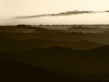 Southern Appalachian Ridges, Great Smoky Mountains National Park, North Carolina, USA Photographic Print by Adam Jones