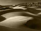 Mojave Desert Sand Dunes, Death Valley National Park, California, USA Photographic Print by Adam Jones