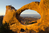 Double O Arch, Arches National Park, Utah, USA Photographic Print by Roddy Scheer