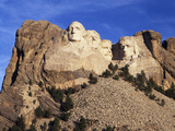 View of Mount Rushmore National Memorial, Keystone, South Dakota, USA Photographic Print by Walter Bibikow