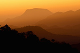 Davis Mountains at Sunrise in West Texas, USA Photographic Print by Larry Ditto