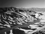 Telescope Peak in Mojave Desert, Death Valley National Park, Zabriskie Point, California, USA Photographic Print by Adam Jones