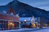 Historic Buildings Along Elk Avenue, Crested Butte, Colorado, USA Photographic Print by Walter Bibikow