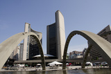 New City Hall, Toronto, Ontario, Canada Fotografisk tryk af Cindy Miller Hopkins