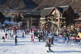 Snowmass Village, Snowmass Village Ski Area, Colorado, USA Photographic Print by Walter Bibikow