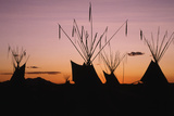 Teepee at Dusk, Logan, Utah, USA Photographic Print by Scott T. Smith