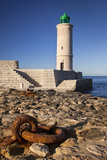 Rusted Iron Ring Below the Cassis Lighthouse, Cassis Provence, France Photographic Print by Brian Jannsen