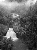 Linville Falls, Linville Gorge, Pisgah National Forest, North Carolina, USA Fotografisk trykk av Adam Jones
