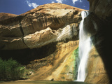 View of Waterfall in Grand Staircase Escalante National Monument, Utah, USA Photographic Print by Scott T. Smith