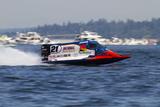 SEAFAIR, Formula One (F1) Outboard Racing Boats, Lake Washington, Seattle, Washington, USA Photographic Print by Jamie & Judy Wild