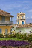 Buildings in Plaza Mayor, Trinidad, UNESCO World Heritage Site, Cuba Photographic Print by Keren Su