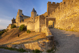 Medieval Town, Fortification, Carcassonne, Languedoc-Roussillon, France Photographic Print by Brian Jannsen