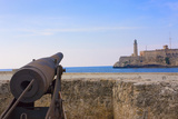 Seawall, El Morro Fort, Fortification, Havana, UNESCO World Heritage Site, Cuba Photographic Print by Keren Su