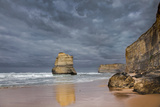 Cliffs, 12 Apostles from the Beach at Gibsons Steps, Great Ocean Road, Australia Photographic Print by Martin Zwick