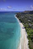 Kailua Beach, Oahu, Hawaii, USA Photographic Print by Douglas Peebles