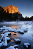 El Capitan and Merced River, Yosemite National Park, California, USA Photographic Print by Christopher Bettencourt