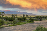 Incredible Stormy Light on the Madison River at Sunset Near Ennis, Montana, USA Photographic Print by Chuck Haney
