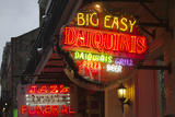 Neon Signs on Bourbon Street, French Quarter, New Orleans, Louisiana, USA Photographic Print by Jamie & Judy Wild