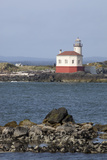 Coquille River Lighthouse, Built 1896, Bandon, Oregon, USA Photographic Print by Jamie & Judy Wild