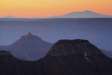 Sunrise, Bright Angel Point, North Rim, Grand Canyon National Park, Arizona, USA Photographic Print by Michel Hersen
