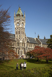 Graduation Photos at University of Otago, Dunedin, South Island, New Zealand Photographic Print by David Wall