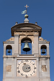 Clock Tower of Palace of the Lay Fraternity, Arezzo, Tuscany Photographic Print by Roberto Gerometta