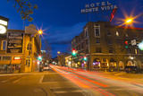 San Francisco Street at Dusk in Historic Downtown Flagstaff, Arizona, USA Photographic Print by Chuck Haney