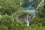 Plitvice Lakes in the National Park Plitvicka Jezera, Croatia Photographic Print by Martin Zwick