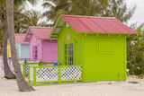 Beach Bungalow, Princess Cays, Eleuthera, Bahamas Photographic Print by Lisa S. Engelbrecht