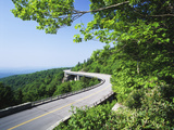Linn Cove Viaduct, Blue Ridge Parkway National Park, North Carolina, USA Photographic Print by Adam Jones