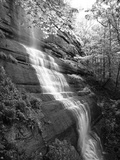 View of Waterfall, Jessamine County, Kentucky, USA Photographic Print by Adam Jones