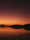 View of Beach at Dawn, Vancouver Island, British Columbia Photographic Print by Stuart Westmorland