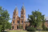 Assumption Abbey in Richardton, North Dakota, USA Photographic Print by Chuck Haney