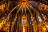 The Lower Chapel, Sainte Chapelle, Paris, France Photographic Print by Brian Jannsen