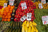 Pike Place Market Signs  Seattle  Washington  USA