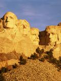 View of Mount Rushmore National Memorial, Keystone, South Dakota, USA Photographic Print by Walter Bibikow