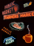 Pike Place Market Signs, Seattle, Washington, USA Photographic Print by Jamie & Judy Wild