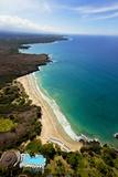 Hapuna Beach Prince Hotel, Mauna Kea Beach Resort, Kohala, Big Island, Hawaii, USA Photographic Print by Douglas Peebles