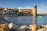 Eglise Notre Dame Des Anges Church, Collioure, Languedoc-Roussillon, France Photographic Print by Brian Jannsen