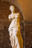 Venus De Milo Statue on Display at Musee Du Louvre, Paris, France Photographic Print by Brian Jannsen