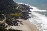 Coastline View from Overlook, Cape Perpetua Scenic Area, Oregon, USA Photographic Print by Jamie & Judy Wild