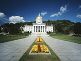State Capitol Building, Montpelier, Vermont, USA Photographic Print by Walter Bibikow