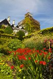 Summer in Hately Gardens, Victoria, British Columbia Photographic Print by Terry Eggers