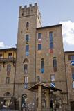 House-Tower of the Lappoli Family, Arezzo, Tuscany Photographic Print by Roberto Gerometta