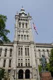 Historic Erie County Hall and Clock Tower, Buffalo, New York, USA Fotografie-Druck von Cindy Miller Hopkins