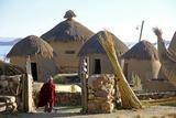 Andean Eco-Village Inca Utama, Lake Titicaca, Huatajata, Bolivia Photographic Print by Kymri Wilt