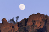 Full Moon, High Peaks, Pinnacles National Monument, California, USA Photographic Print by Gerry Reynolds